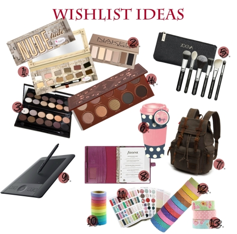 Christmas Wishlist Ideas #WinterWonderlandByEmiiRii