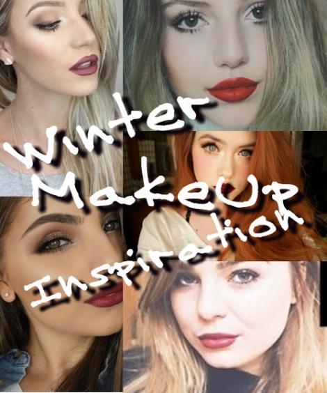 WInterWonderland MakeUp Look Inspirations