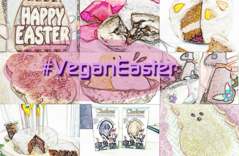#VeganEaster on Instagram