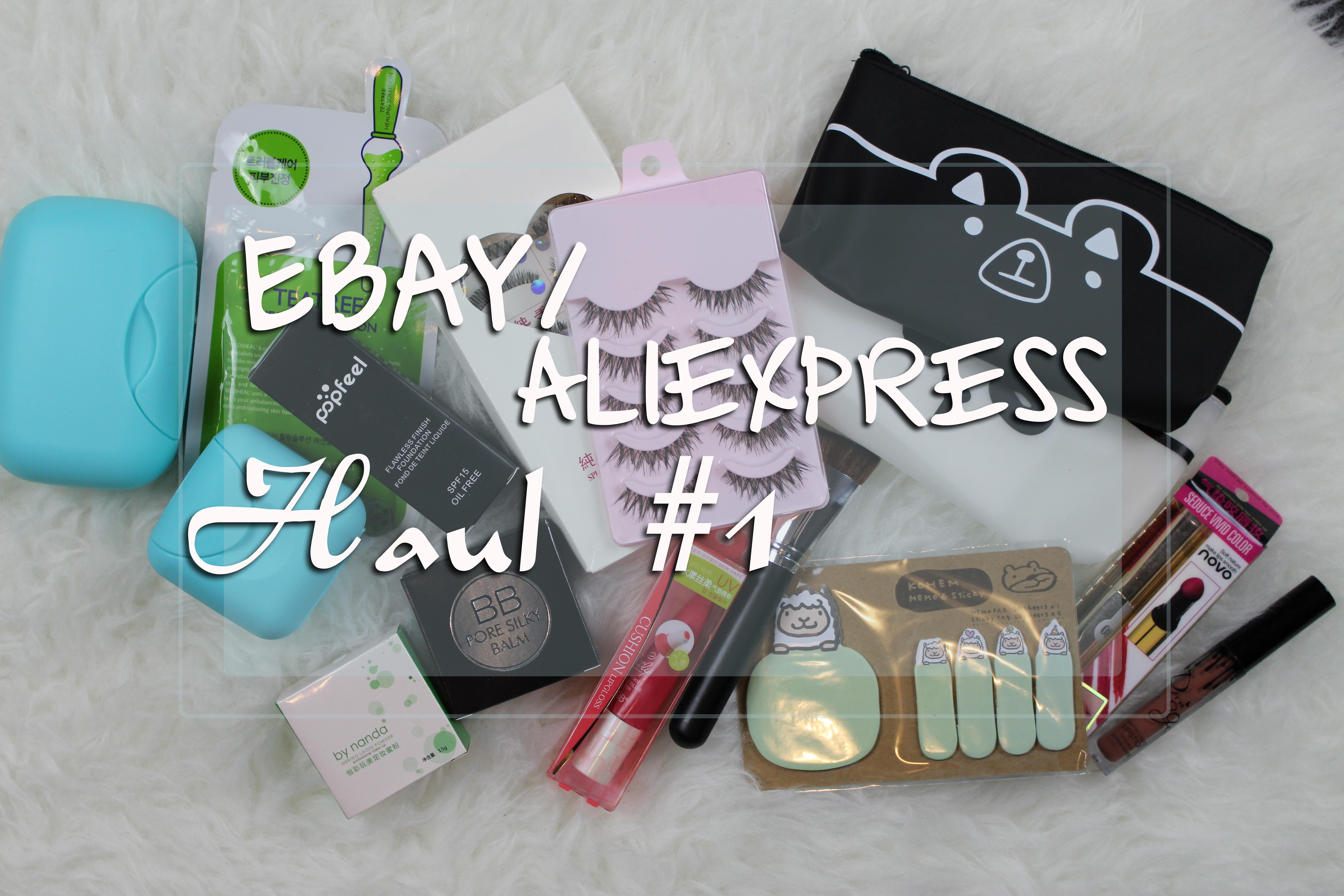 88d21b2f25 Ebay AliExpress Haul  1