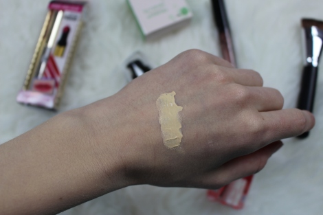 popfeel foundation swatch