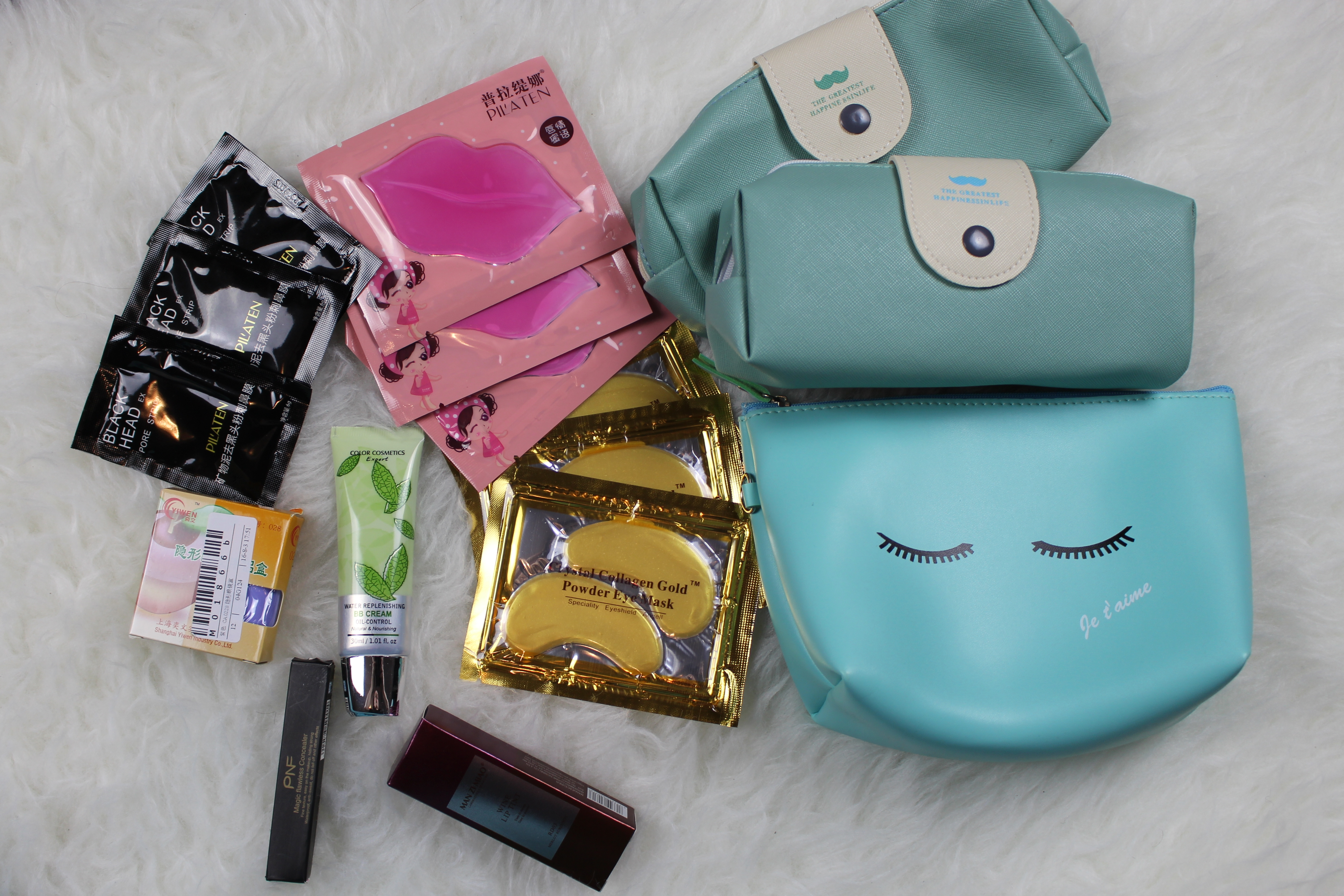 50e2d0a1fe First of all I got some pencil cases cosmetic bags because I d like to add  one to each giveaway I m planning to host!