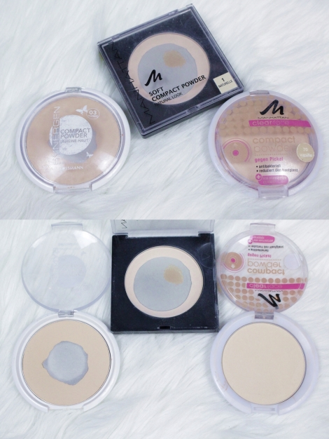 Project Pan #1 Pressed face powders I don't really use but definitely should finish before buying any other powder!