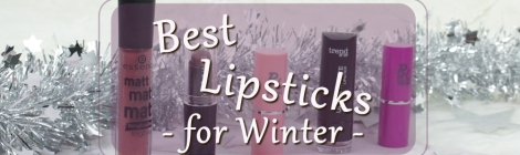 Top 5 affordable lipsticks for winter 2017