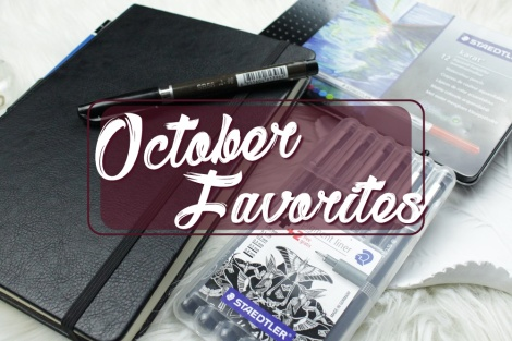 October Favorites Bullet Journal Edition
